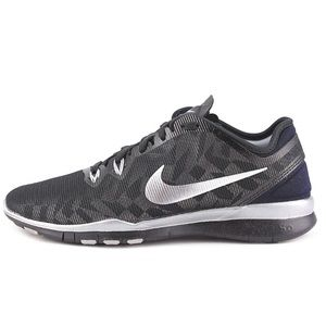 Nike Shoes - Nike Free TR Fit 5 black and silver